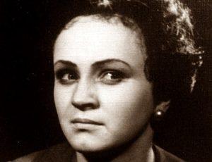 Marija Dičpetrytė aktorės karjeros pradžioje | Šeimos archyvo nuotr.