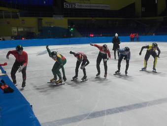 Čiuožėjui S. Ramanauskui 2 vieta Europos jaunimo taurės varžybose | Vilniaus miesto sporto centro nuotr.