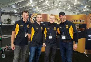 Kazimieras Stankevičius (antras iš dešinės) Floridoje su kitais žymiausiais pasaulio meistrais | Kauno rajono savivaldybės nuotr.