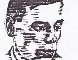 Jono Aisčio portretas. Portretą piešė Leonas Juozonis | wikipedia.org nuotr.