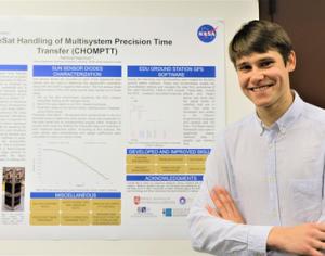 VGTU studento įspūdžiai NASA: Lietuva yra žinoma pasaulyje kaip turinti potencialą vystyti mažuosius palydovus | VGTU nuotr.