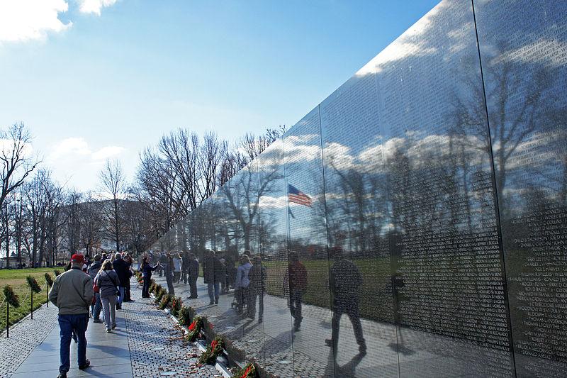Vietnamo Veteranų Memorialas Vašingtone | Wikipedia.org nuotr.