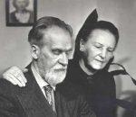 Pedagogai, akademikas Mykolas ir žmona Bronislava Biržiškos, JAV   Danutės Mažeikienės albumo nuotr.