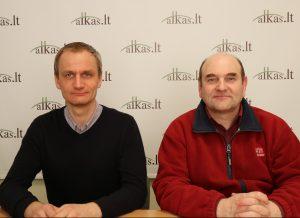 Robertas Kananavičius ir Gerimantas Statinis | Alkas.lt nuotr.