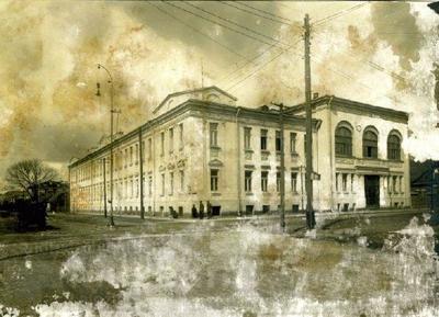 Karo mokykla Kaune, fotografuota 1917 m., tarp rugpjūčio ir spalio | Leipzigo miesto muziejaus nuotr.
