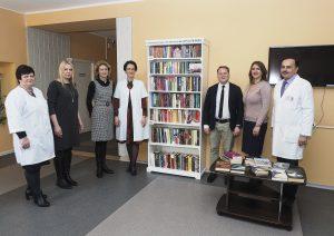 Onkologinių ligonių gyvenimo kokybei: jungtinė specialistų komanda ir gyventojų surinkta biblioteka | Nacionalinio vėžio instituto nuotr.