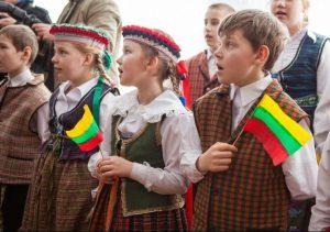 Punsko lietuviškos mokyklos mokiniai | ŠMM nuotr.