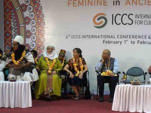 Romuva Indijoje pristato moters dieviškumo tradiciją baltų kultūroje | R. Balkutės nuotr.