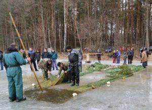Žiemos žūklės šventė Mindūnuose | moletumuziejus.lt nuotr.