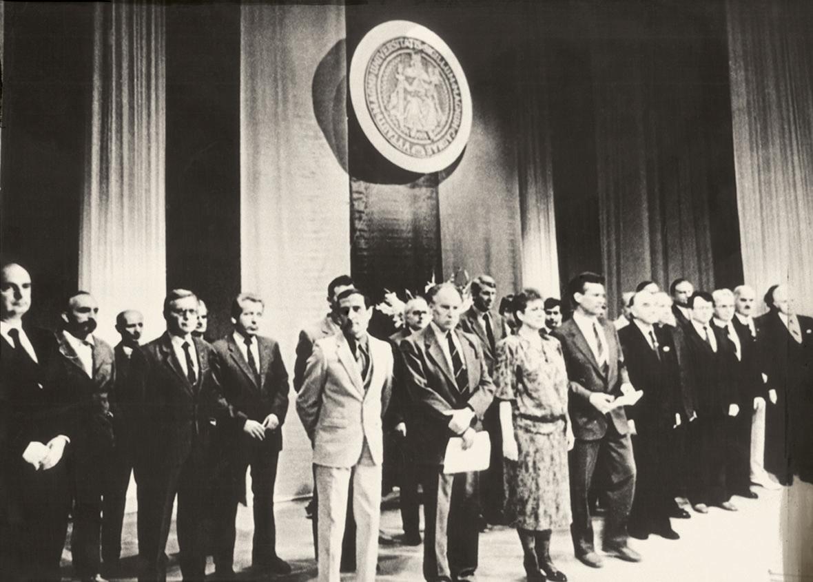1989 m. Atkurimo taryba | VDU nuotr.