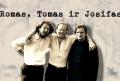 """Dokumentinė juosta – """"Romas, Tomas ir Josifas""""   Studijos """"Ketvirta versija"""" nuotr."""