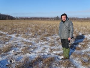 Žymantas Morkvėnas teritorijoje, greta Alksno ežero, Ignalinos raj. | Baltijos aplinkos forumo nuotr.