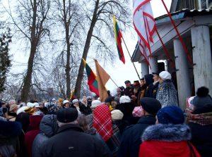 Vasario 16-osios minėjimas Brėvikiuose | J. Zvonkuvienės nuotr.