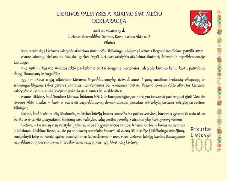 100-mecio_Deklaracija_Tekstas_lrs_lt_nuotr