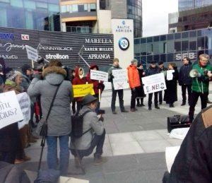 Vilniaus meras R. Šimašius atsisakė susitikti su naikinamo Vilniaus paveldo gynėjais | Rengėjų nuotr.