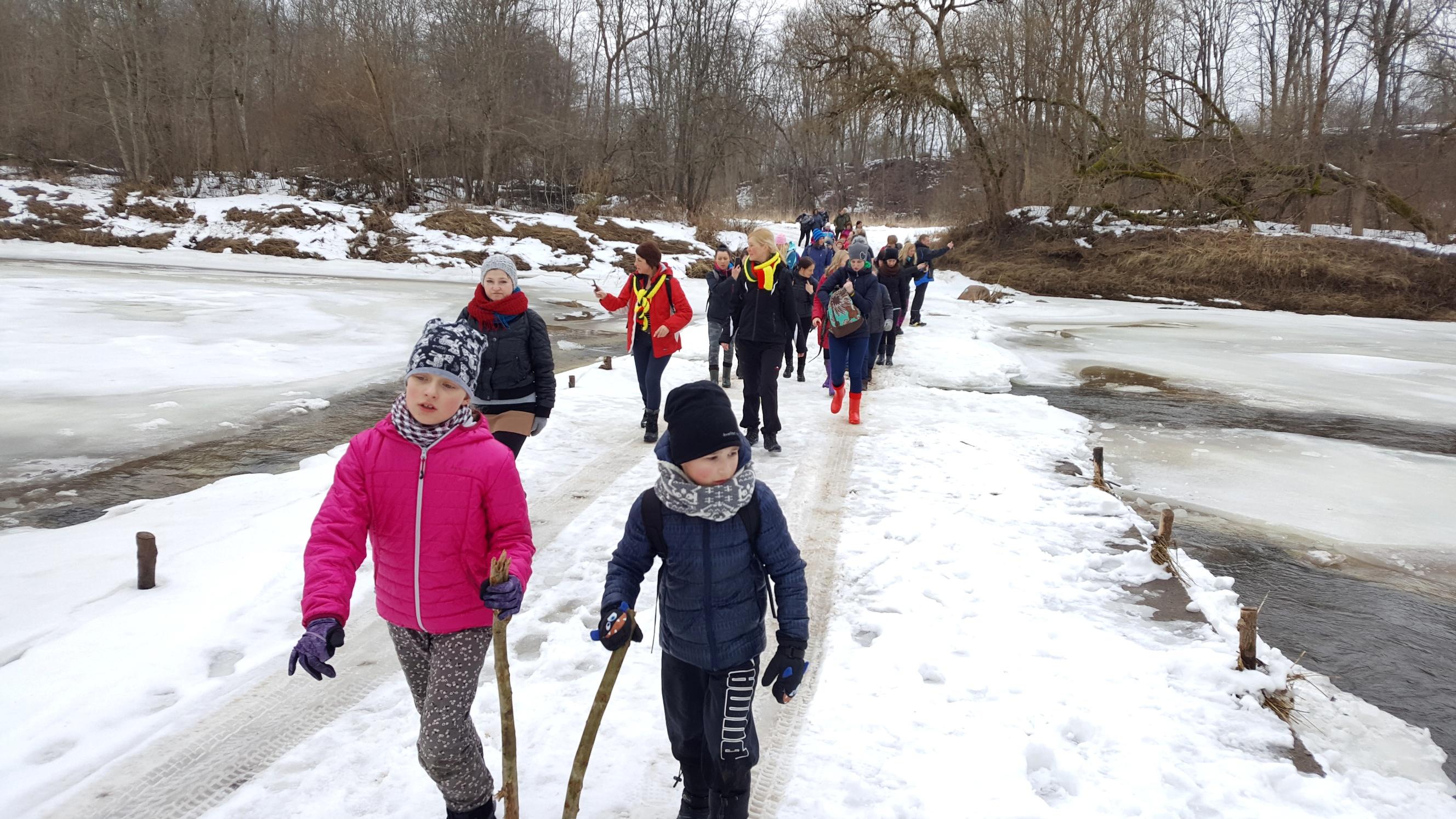 Pagramančio regioniniame parke – moterų žygis pėsčiomis | L. Misiulytės nuotr.