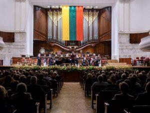 Lietuvos valstybės atkūrimo šimtmetis iškilmingai paminėtas Varšuvoje | URM nuotr.