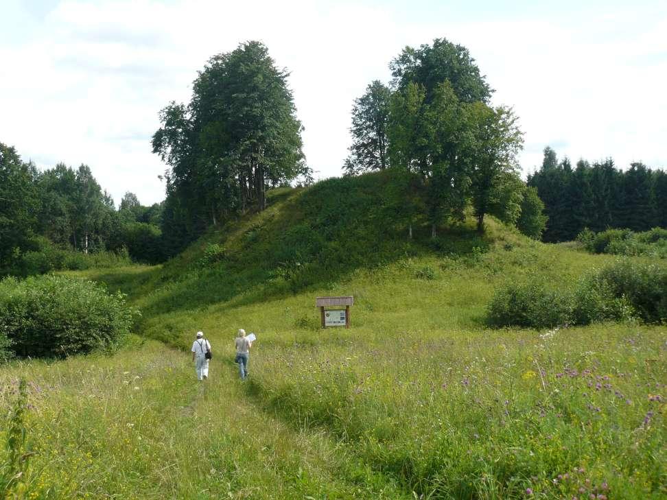 7 pav. Pakraštinių darinių masyve įsikūręs nedidelis Beižionių piliakalnis | V. Baltrūno nuotr.