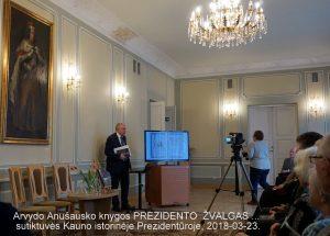 Arvydo Anušausko knygos sutiktuvės, Kauno istorinėje prezidentūroje, 2018-03-23 | Rengėjų nuotr.