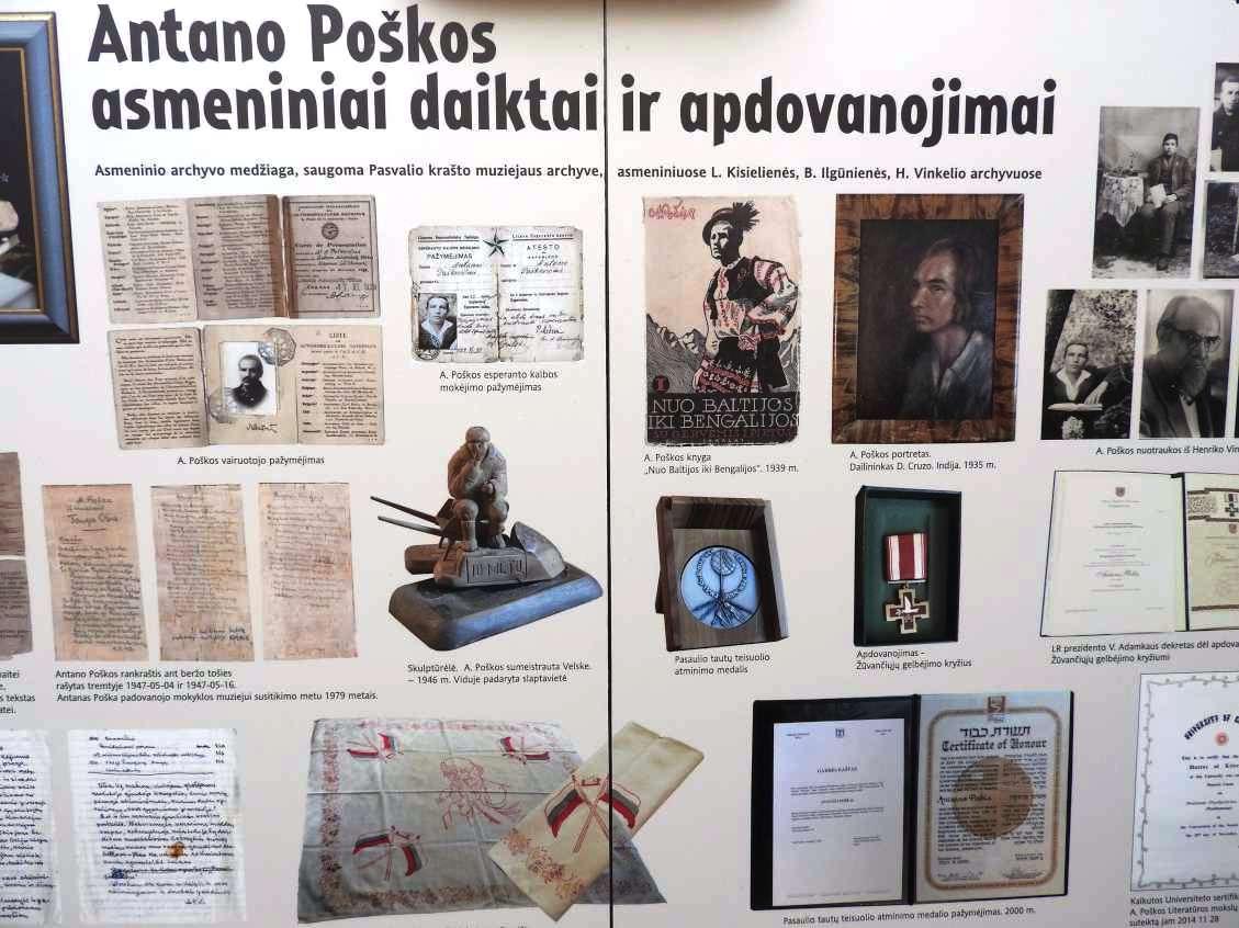 Ignalinoje atidaryta paroda skirta keliautojui Antanui Poškai | Ignalinos rajono savivaldybės administracijos nuotr.