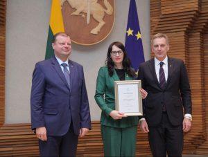 Apdovanota geriausia verslininkė Jūratė Kasperavičienė | rengėjų nuotr.