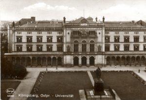 Karaliaučiaus universitetas | Atvirukas iš Bibliotekos fondų