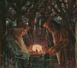 """M. K. Čiurlionis """"Karalių pasaka"""" 1909 m.   Ciurlionis.eu nuotr."""