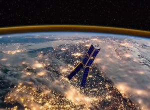 Lietuvos kosminis palydovas LituanicaSAT-2 kosmose | mokslosriuba.lt nuotr.