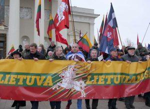 Patriotinės Kovo 11-osios eitynės vėl budino lietuvių tautinę dvasią | Alkas.lt, J. Vaiškūno nuotr.