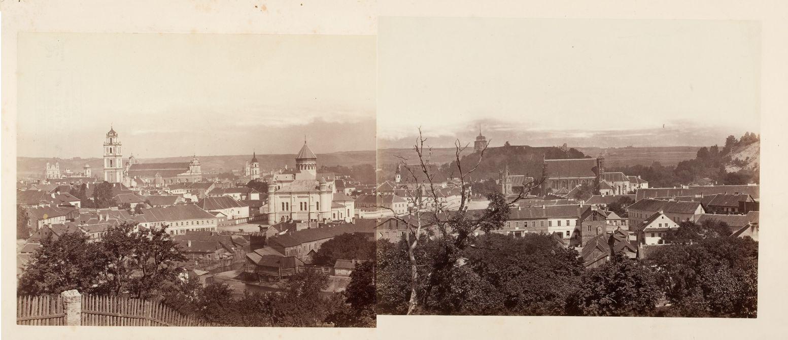 Vilniaus vaizdas nuo Išganytojo kalvos   J. Čechavičiaus nuotr.