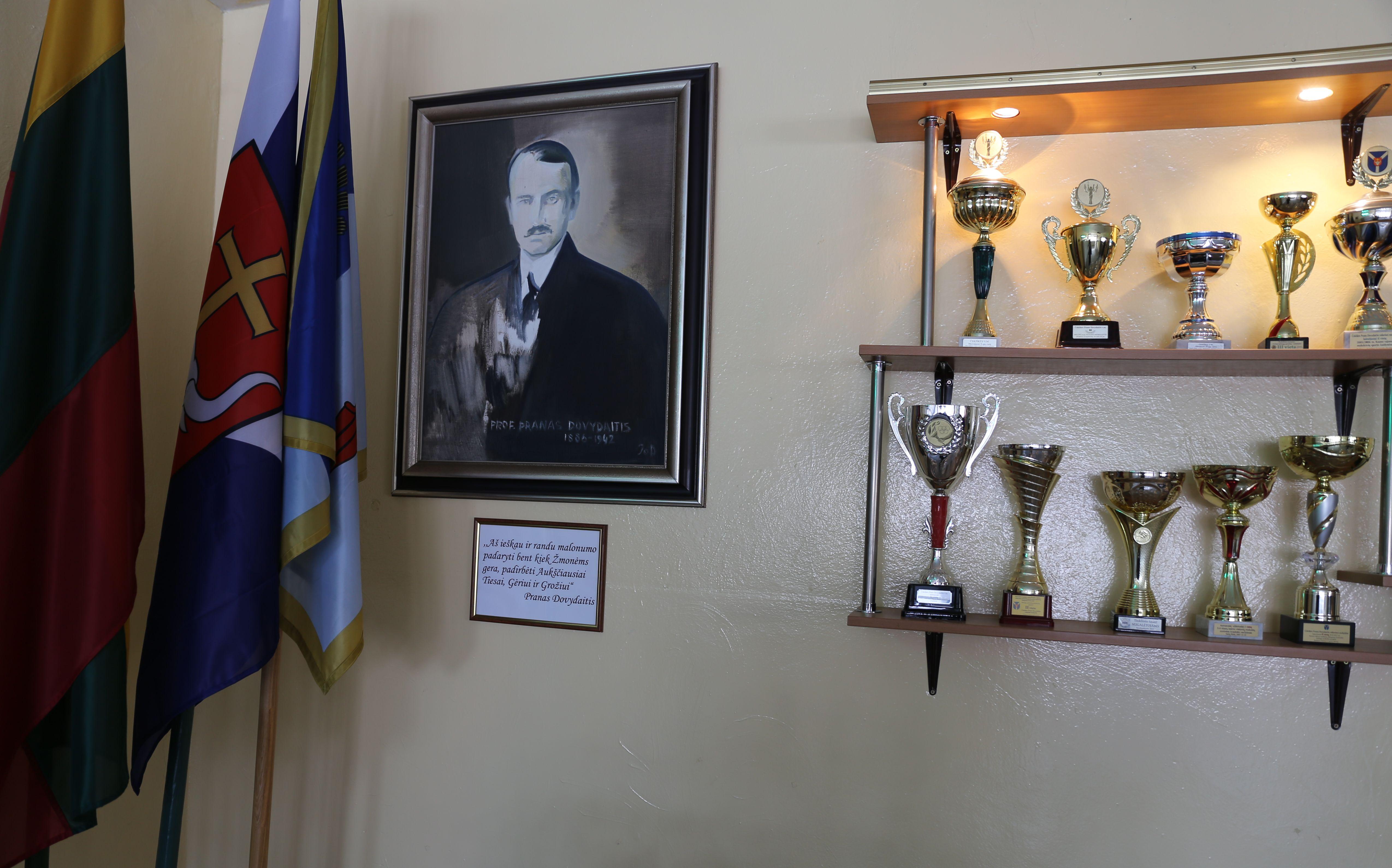 Į Čekiškės P. Dovydaičio gimnaziją įžengė statybininkai | Kauno rajono savivaldybės nuotr.