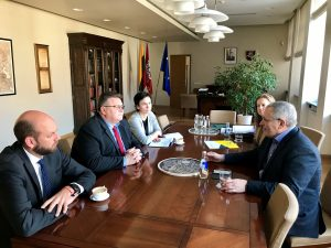 Linas Linkevičius susitiko su Michailu Chodorkovskiu | URM nuotr.