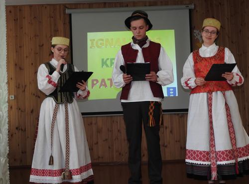 Naujajame Daugėliškyje skleidėsi patriotiškumo žiedai   Ignalinos krašto savivaldybės nuotr.