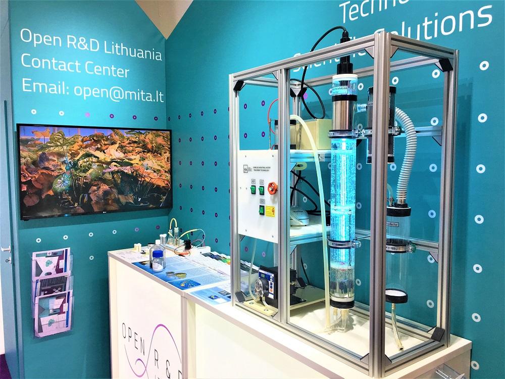 Lietuvos mokslas prisistato pasaulinėje technologijų parodoje Hanoveryje | Rengėjų nuotr.