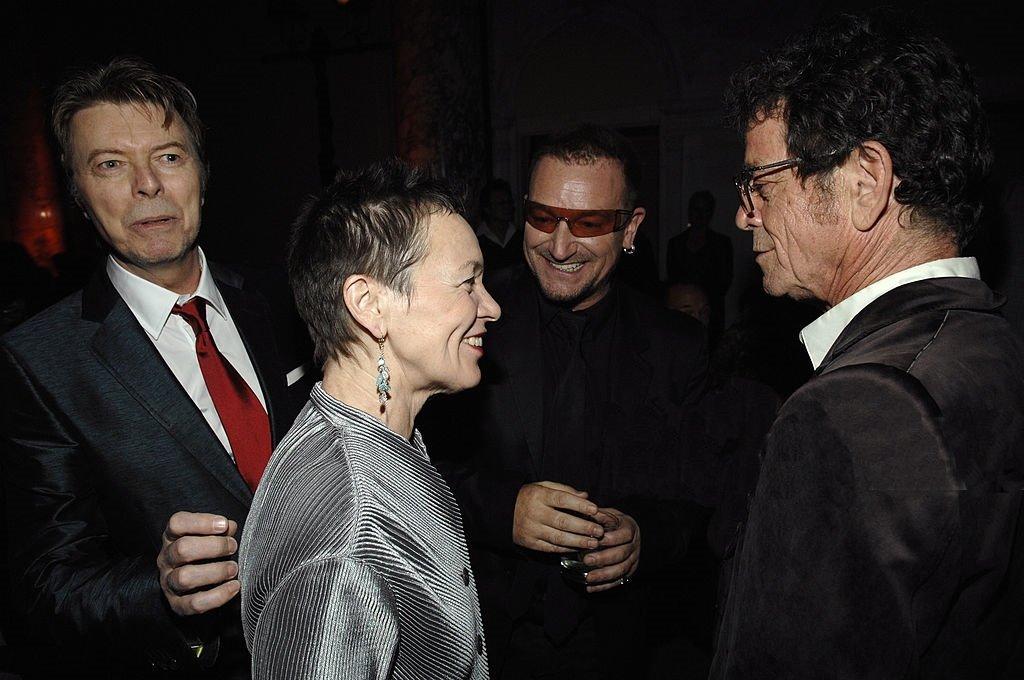Laurie Anderson ir Bonas Luis Rydas (Bono Lou Reed), Deividas Bovis (David Bowie) | Rengėjų nuotr.