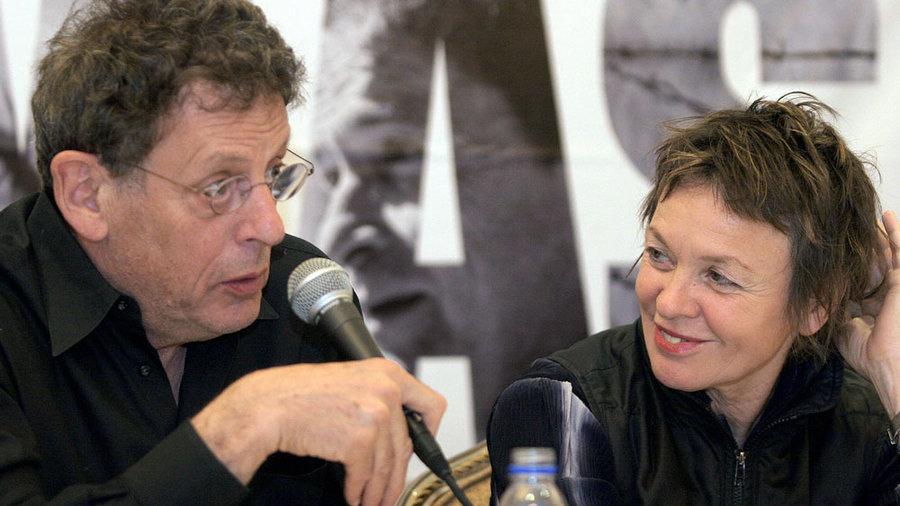 Laurie Anderson ir Filipas Glasas (Philip Glass) | Rengėjų nuotr.