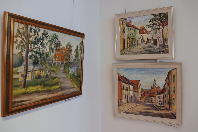 Ignalinietės kūryba džiaugiasi zarasiškiai | Zarasų krašto muziejaus nuotr.