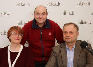 Eglė Ragelienė, Gerimantas Statinis ir Petras Mažeikis | Alkas.lt nuotr.