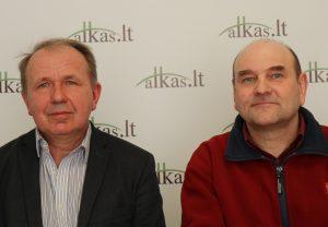 Algis Kavaliauskas ir Gerimantas Statinis | Alkas.lt nuotr.