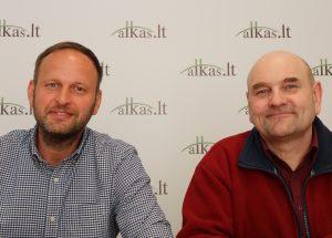 Danas Pankevičius ir Gerimantas Statinis | Alkas.lt nuotr.