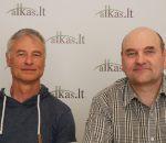 Darius Radkevičius ir Gerimantas Statinis | Alkas.lt nuotr.