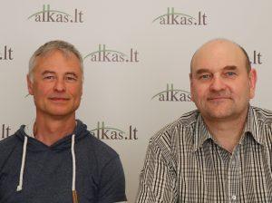 Darius Radkevičius ir Gerimantas Statinis   Alkas.lt nuotr.