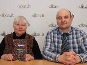 Viktorija Prėskienytė-Diavara (Diawara) ir Gerimantas Statinis   Alkas.lt nuotr.