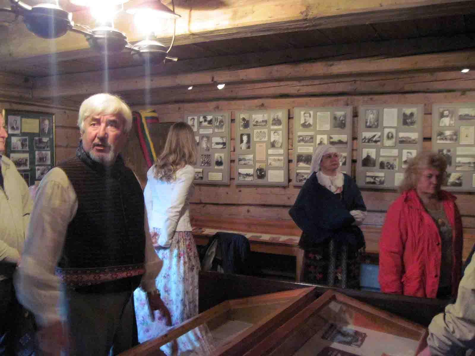 Vinco Kudirkos klėtelėje buvusi ekspozicija | P. S. Krivicko nuotr.