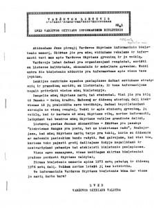 Informacinis biuletenis Varšuvos lietuvis | Punskas.pl nuotr.