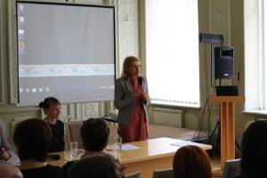 Pasak kultūros ministrės Lianos Ruokytės-Jonson, regionų kultūros finansavimo modelis leis labiau plėtoti kultūrines paslaugas už didmiesčių ribų. | lrkm.lrv.lt nuotr.
