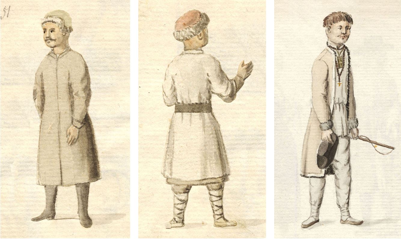 Lietuviai iš Johano Kristofo Brocės kolekcijos | LMA Vrublevskių bibliotekos nuotr.