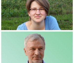 Neringa Levinskaitė ir Leonas Narkevičius | Nacionalinės moksleivių akademijos nuotr.