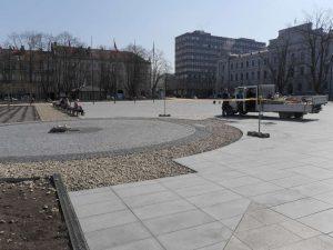 Lukiškių aikštė, 2018 balandžio 10 d. 12:53 val. | Alkas.lt, J. Vaiškūno nuotr.