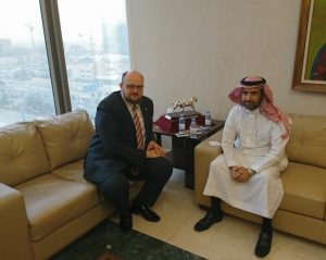 Rijade, Saudo Arabijos sostinėje, lankėsi oficiali užsienio reikalų ministro Lino Linkevičiaus vadovaujama Lietuvos delegacija | zum.lt nuotr.